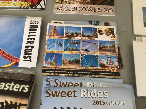 You might be able to find a calendar with photos from your favorite park.