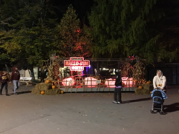 Phunfest might be over, but the park is still open on the weekends for their Hallo-Fun Nights event, which is almost the same, just with no enthusiast events.